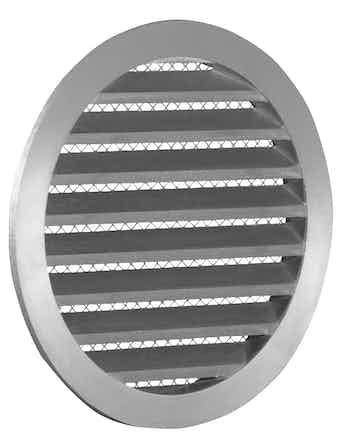 Решетка круглая металлическая 125