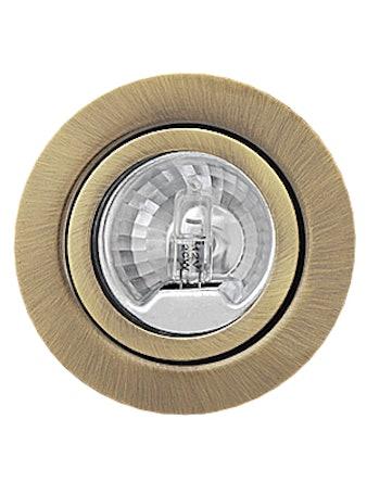 Светильник мебельный De Fran FT9216, цвет бронза с лампой, 20 Вт