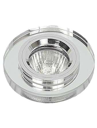 Светильник встраиваемый De Fran FT 885 MR16, зеркальный