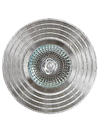 Светильник встраиваемый De Fran FT9957 HL MR16, цвет алюминий
