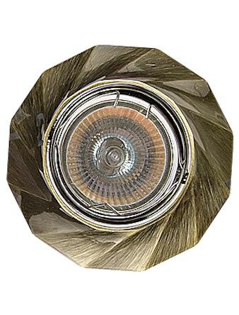 Светильник встраиваемый De Fran FT 331 GAB MR16, цвет бронза