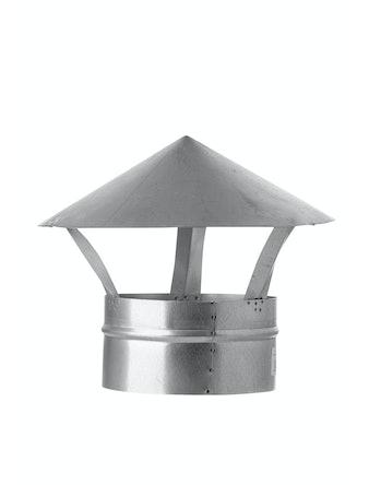 Зонт для вентиляции Благовест, 160 мм, оцинкованный