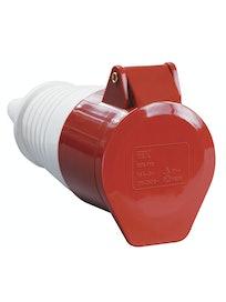 Розетка коннектор IEK PSR22-032-4 3Р+Е, 32 А