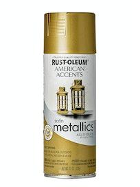 Краска с эффектом состаренного метала Rust-Oleum, золотистая, 312 г