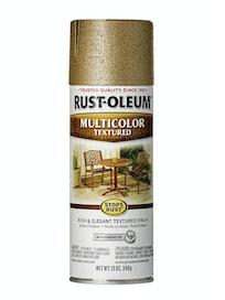 Эмаль аэрозольная текстурная Rust-Oleum, латунь, 340 г