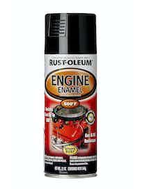Эмаль аэрозольная термостойкая 260°С Rust-Oleum, черная, 340 г