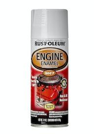 Эмаль аэрозольная термостойкая 260°С Rust-Oleum, белая, 340 г