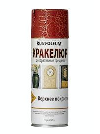 Краска-спрей Rust-Oleum Кракелюр, красная, 340 г