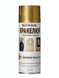 Краска-спрей Rust-Oleum Кракелюр, золотистая, 340 г