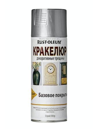Краска-спрей Rust-Oleum Кракелюр, серебристая, 340 г