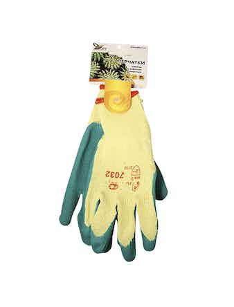 Перчатки трикотажные с рифленым покрытием