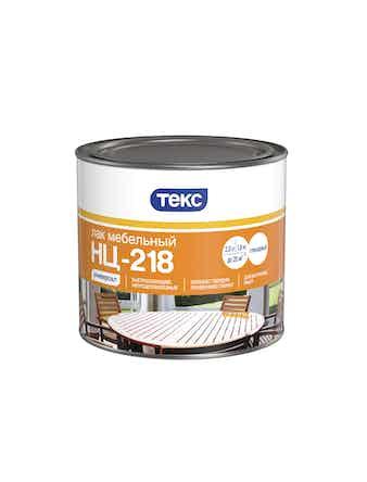 Лак мебельный ТЕКС НЦ-218 глянцевый 1,8 кг