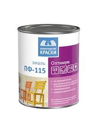 Эмаль ПФ-115 Оптимум Белая 0,9кг Лен.Кр.
