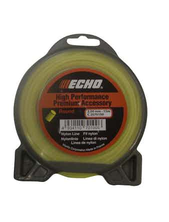 Леска для триммера Echo Round, 2,4 мм х 15 м