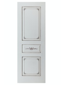 Дверное полотно глухое Interne Doors Парма ПГ-70, эмаль слоновая кость, 700 х 2000 мм