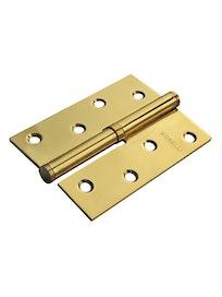 Петля стальная без короны MSD100*70*2.5 L PG, золото (1шт )