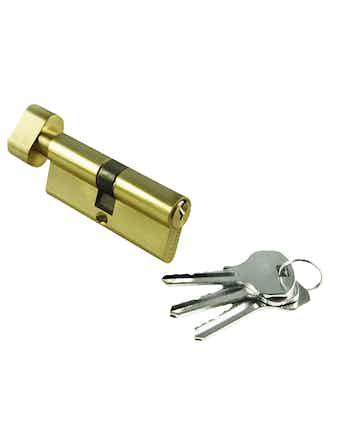Цилиндр ключевой с заверткой 70 мм PG