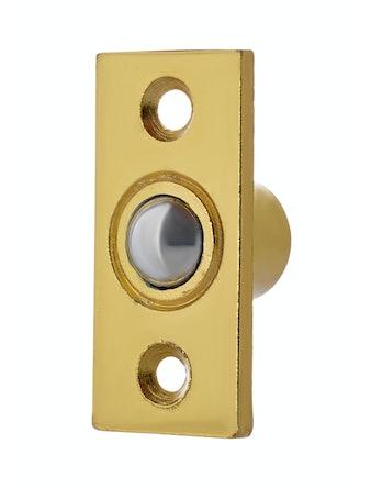 Фиксатор шариковый дверной, 2 x 2 x 5 см, золото