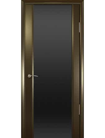 Полотно дверное Шторм-3 остекленное 700х2000 венге