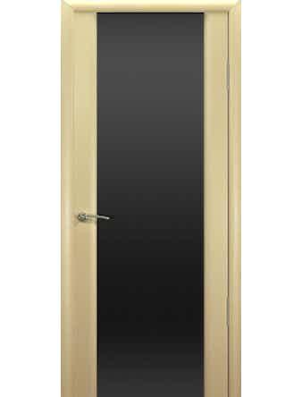 Полотно дверное Шторм-3 остекленное 700х2000 выбеленный дуб