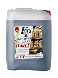 Средство огнебиозащита Тент красно-коричневый, 10 л