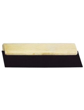Шпатель резиновый для швов с деревянной ручкой 200мм