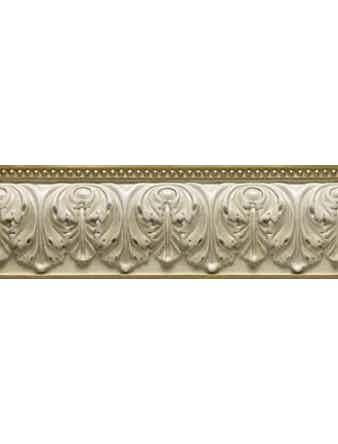 Бордюр настенный Daino Royal Versalles, 11 x 33 см