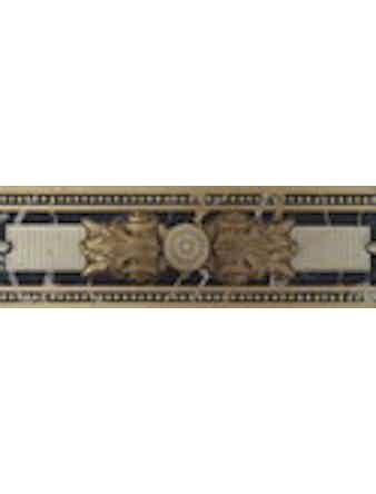 Бордюр настенный Medici Marfil, 8 x 25 см