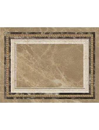 Декор настенный Emperador-Q Crema, 19 х 25 см