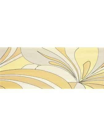 Декор настенный Dec. Cloe 2 Yellow, 20 х 50 см