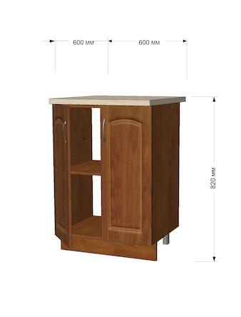 Модуль кухонный Кальвадос стол 60см