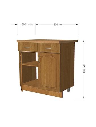 Модуль кух Ольха стол 60см с 1 ящ