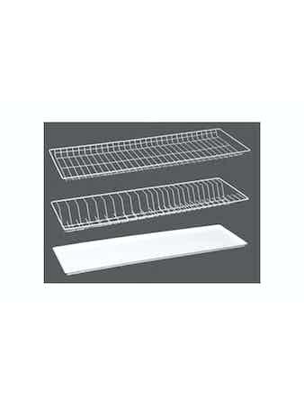 Комплект сушильных решеток 50см, белый