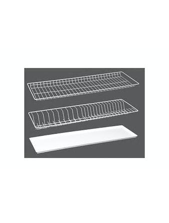 Комплект сушильных решеток 80см, белый