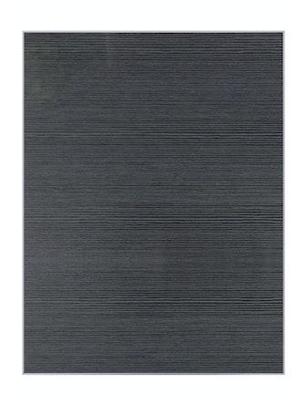 Фасад ЛМДФ черный Штрокс (716х147)