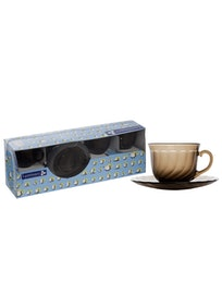 Чайный набор ОКЕАН ЭКЛИПС дымчатый 220мл