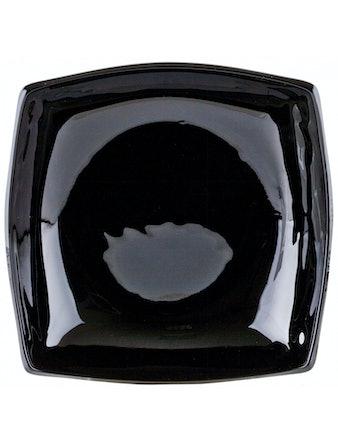 Тарелка суповая КВАДРАТО черная
