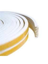 Уплотнитель профиль - Е белый (6 п/м)