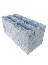 Блок керамзитобетонный СКЦ, пустотелый, 390 х 190 х 188 мм
