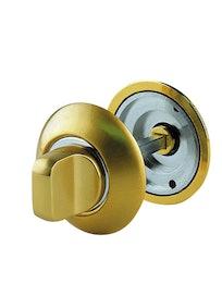 Завертка дверная, матовое золото/золото