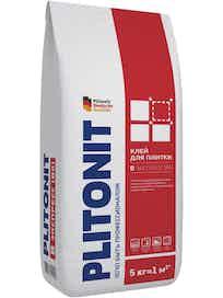 Клей для плитки PLITONIT Вб, 5 кг