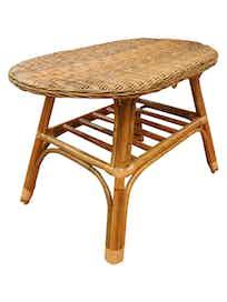 Стол садовый Cello Natural, натуральный ротанг, 50 х 50 х 71 см
