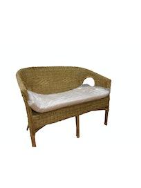 Садовый диван Cello Fabion, с подушкой, 63 х 107 х 77 см