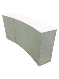 Блок газобетона Ytong, R90, D500, 250 х 100 мм
