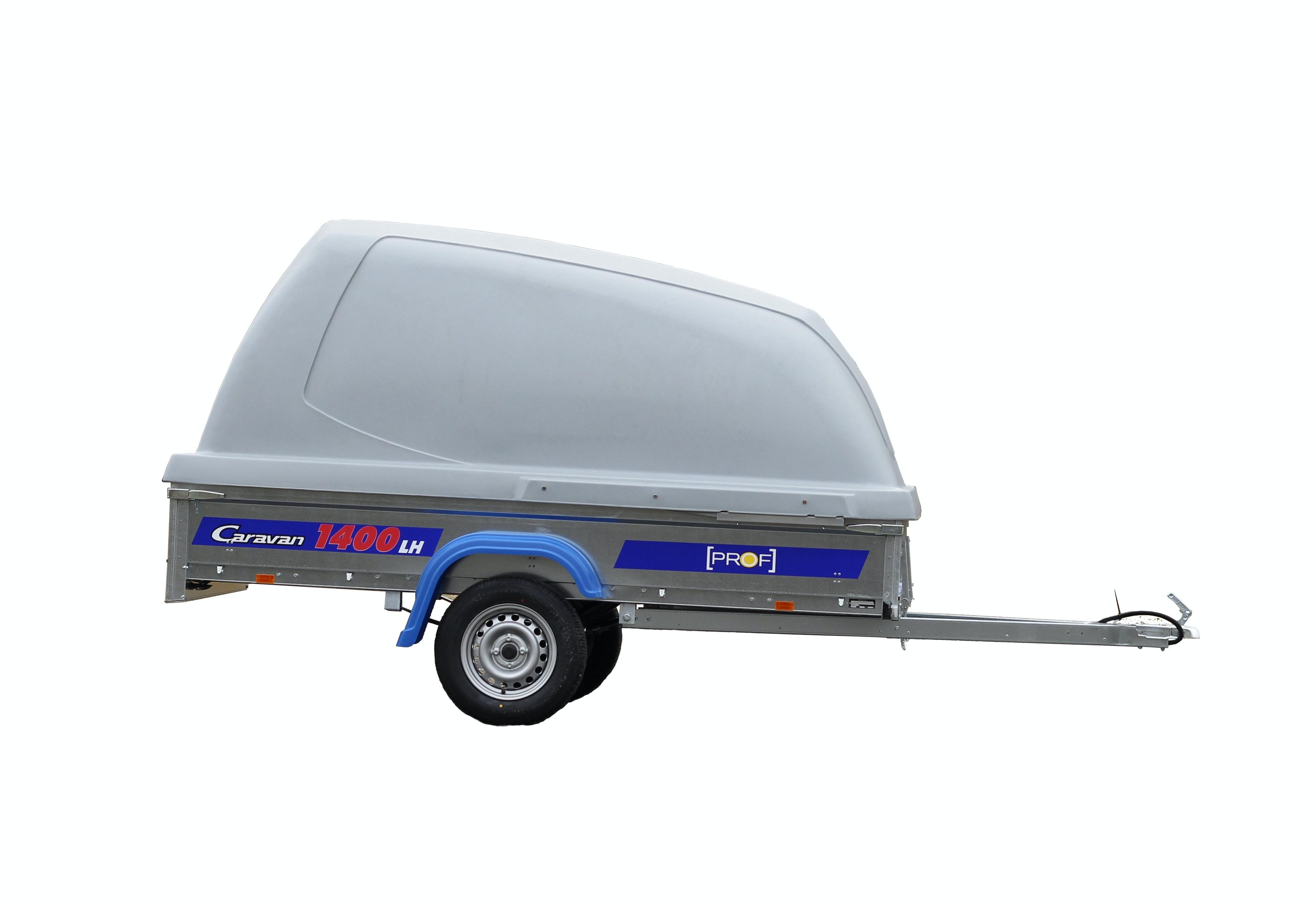släpvagn med kåpa pris