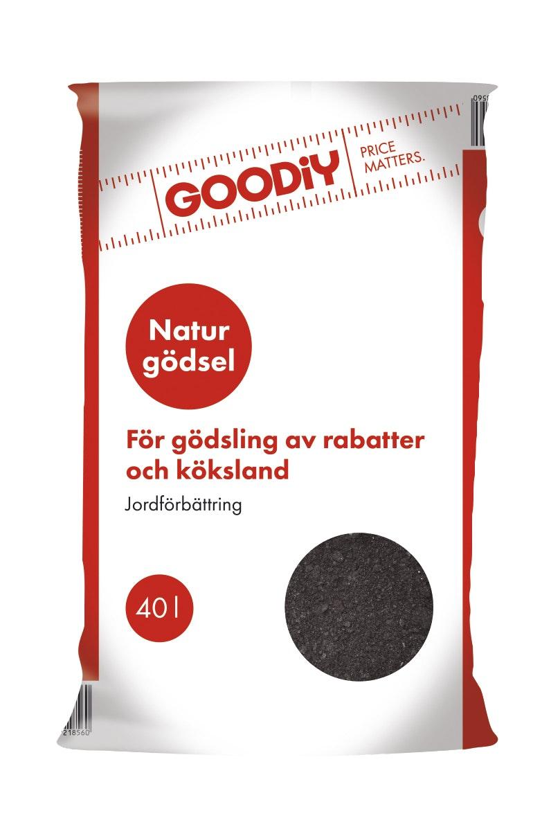 Naturgödsel Goodiy 40 L