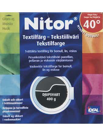 Textilfärg Nitor Djupsvart 13