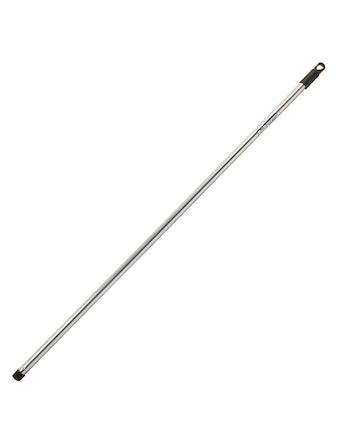 Палка металлическая для щеток хром. 130см