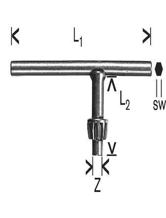 Chucknyckel Bosch 110mm