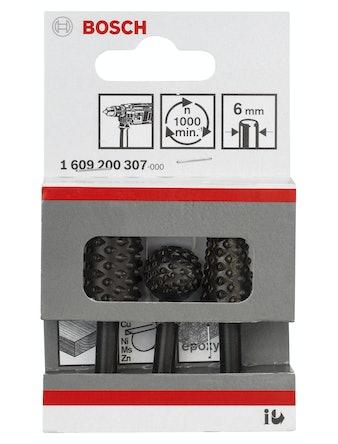 Träraspar Bosch 3-Pack